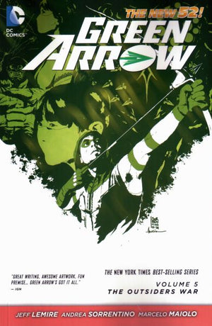 Green Arrow (The New 52) Volume 5: The Outsiders War