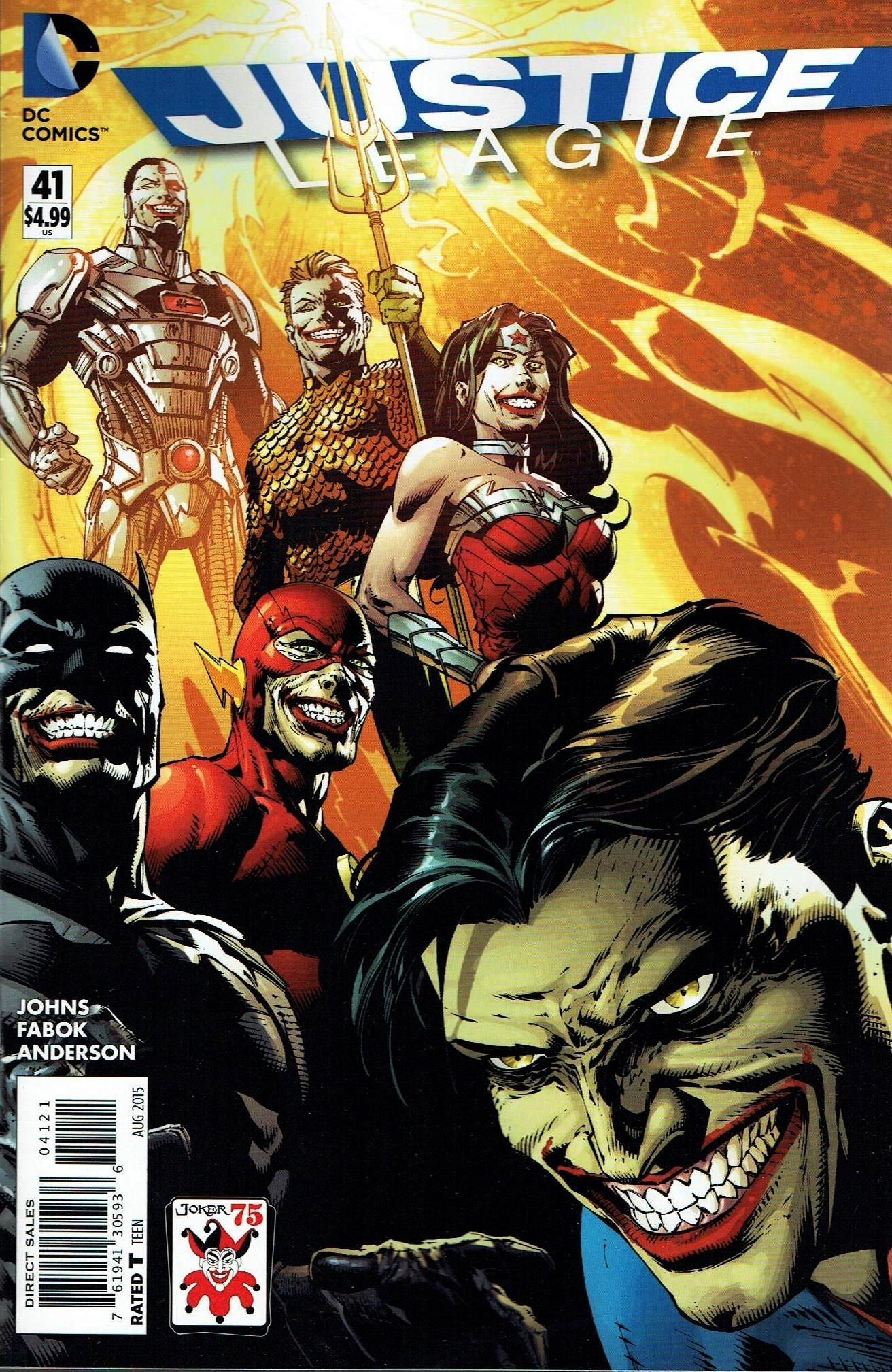 Justice League (The New 52) #41 Variant