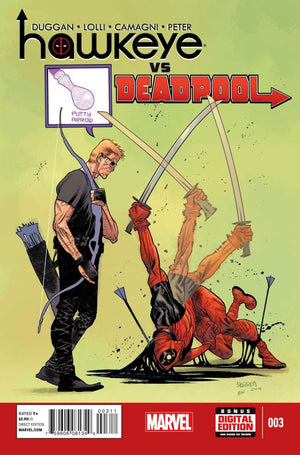 Hawkeye Vs Deadpool #3 (of 4)