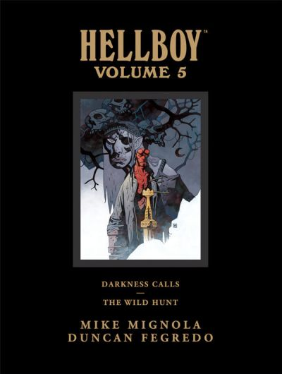 Hellboy Library Edition Volume 5: Darkness Calls / The Wild Hunt HC