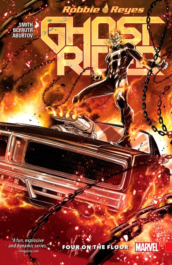 Robbie Reyes: Ghost Rider (2016) Volume 1 - Four on the Floor
