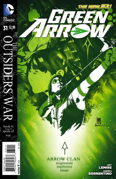 Green Arrow (The New 52) #31
