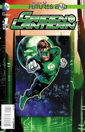 Futures End Green Lantern 3D Cover