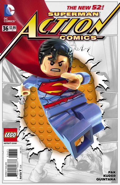 Action Comics (The New 52) #36 Lego Variant