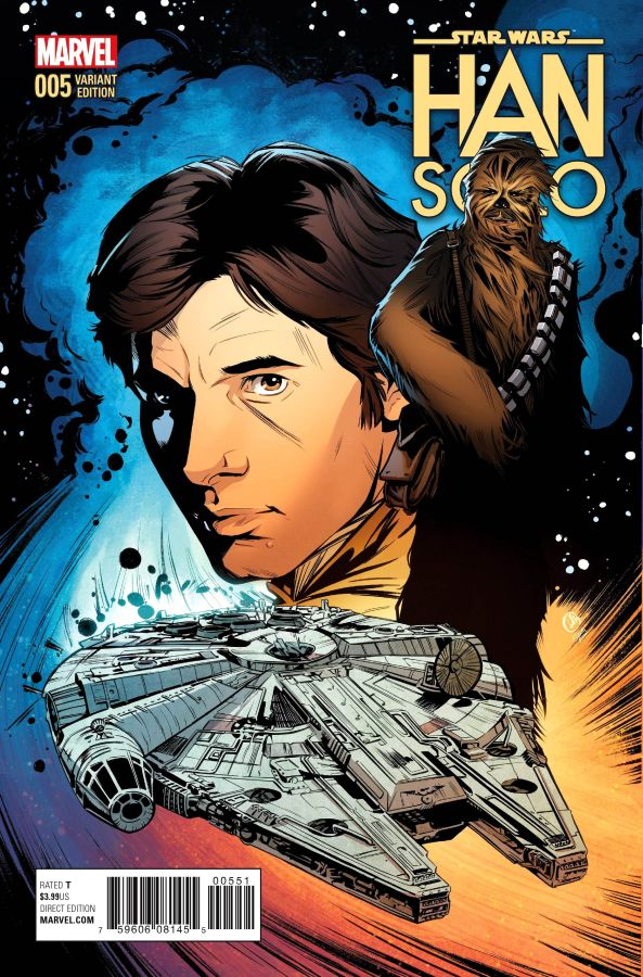 Star Wars: Han Solo (2016) #5 (of 5) Joëlle Jones Cover
