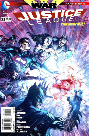 Justice League (The New 52) #23