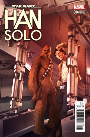 Star Wars: Han Solo (2016) #4 (of 5) Jamal Campbell Cover