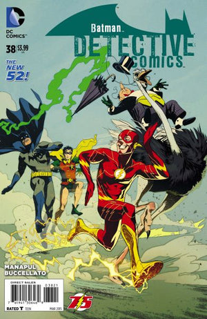 Detective Comics (The New 52) #38 The Flash 75th Anniversary Variant