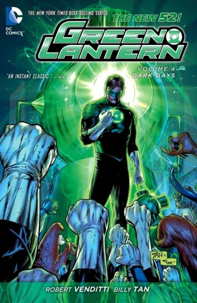 Green Lantern (The New 52) Volume 4: Dark Days