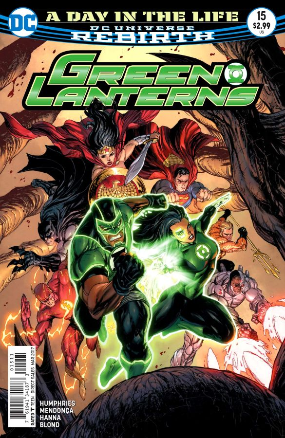 Green Lanterns #15 (DC Universe Rebirth)