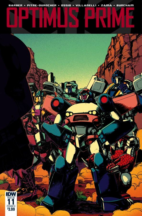 Optimus Prime #11 Zama Cover