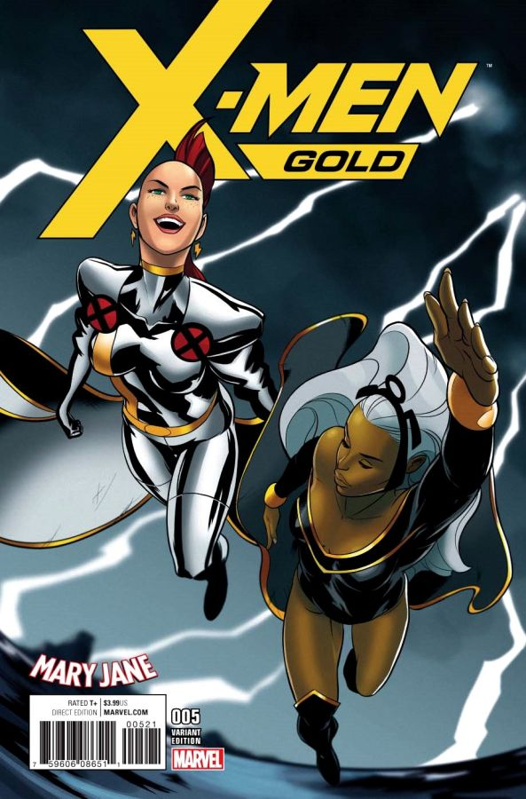 X-Men Gold #05 Mary Jane