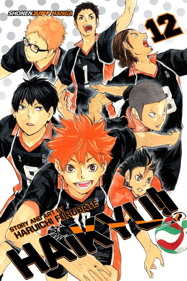 Haikyu!! Volume 12