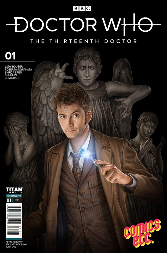 Doctor Who: The Thirteenth Doctor - Season Two (2020) #1 - Stewart McKenny Comics Etc Exclusive Cover