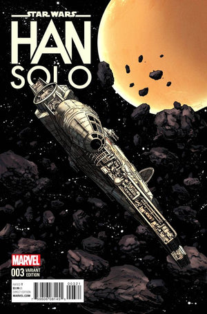 Star Wars: Han Solo (2016) #3 (of 5) Millennium Falcon Cover