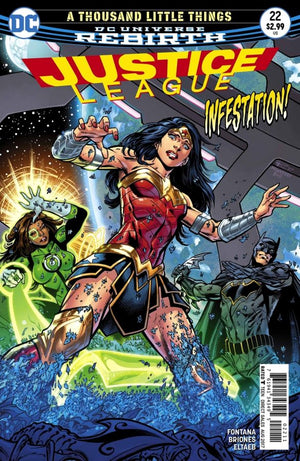 Justice League (DC Universe Rebirth) #22