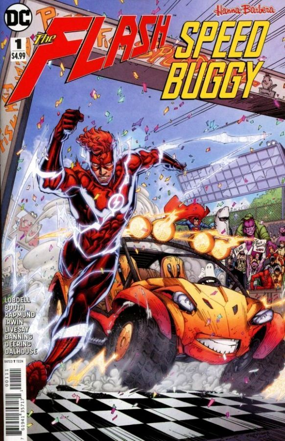 Flash / Speed Buggy Special (2018) #1 (One-Shot)