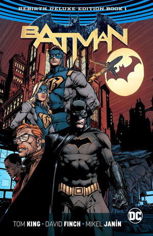 Batman: The Rebirth Deluxe Edition Book 1 HC
