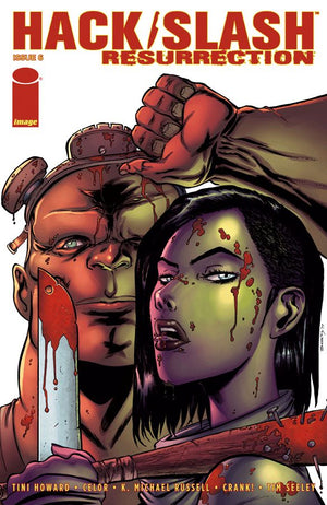 Hack / Slash: Resurrection #06 Tim Seeley Cover