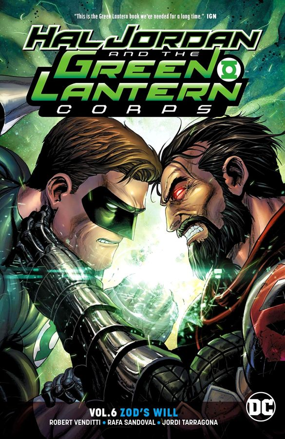 Hal Jordan and the Green Lantern Corps (DC Universe Rebirth) Volume 6: Zod's Will