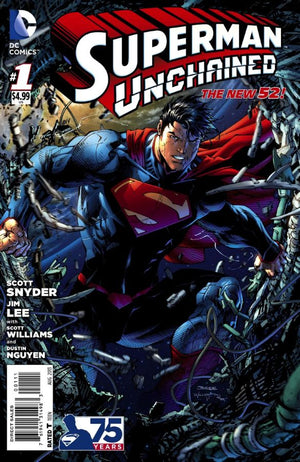 Superman: Unchained #1 (of 9)