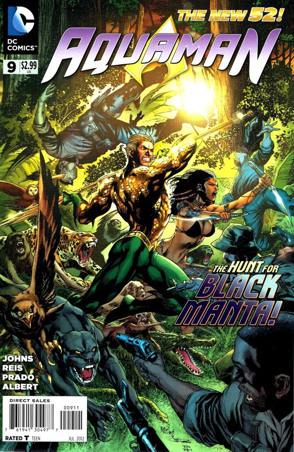 Aquaman (The New 52) #09