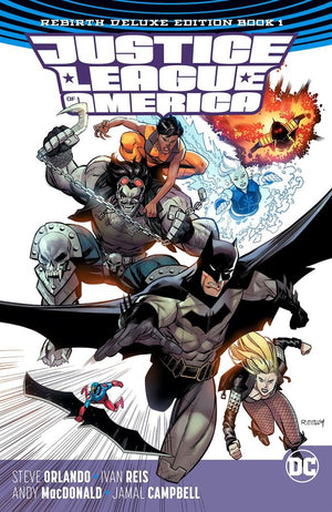 Justice League of America - The Rebirth Deluxe Edition Book 1 HC