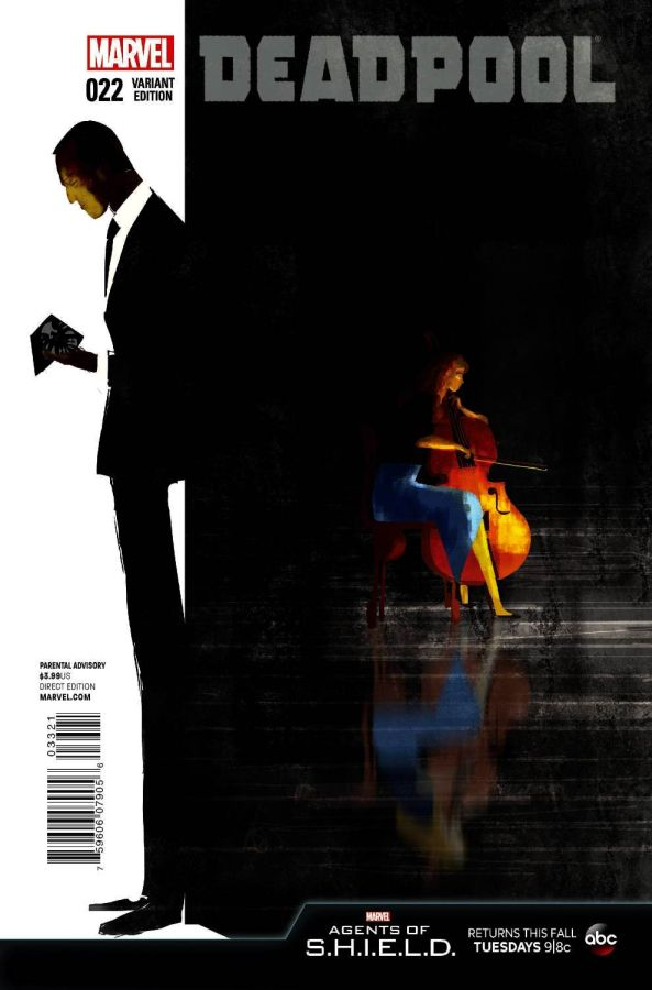 Deadpool (2012) #33 Agent of SHIELD Cover