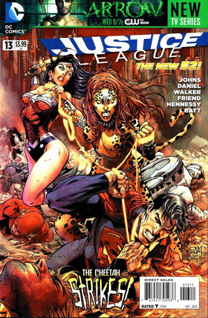 Justice League (The New 52) #13