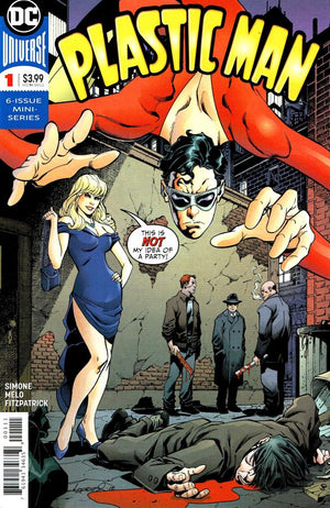 Plastic Man (2018) #1 (of 6)