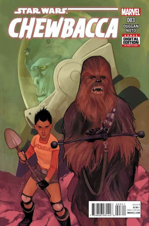 Star Wars - Chewbacca (2015) #3 (of 5)
