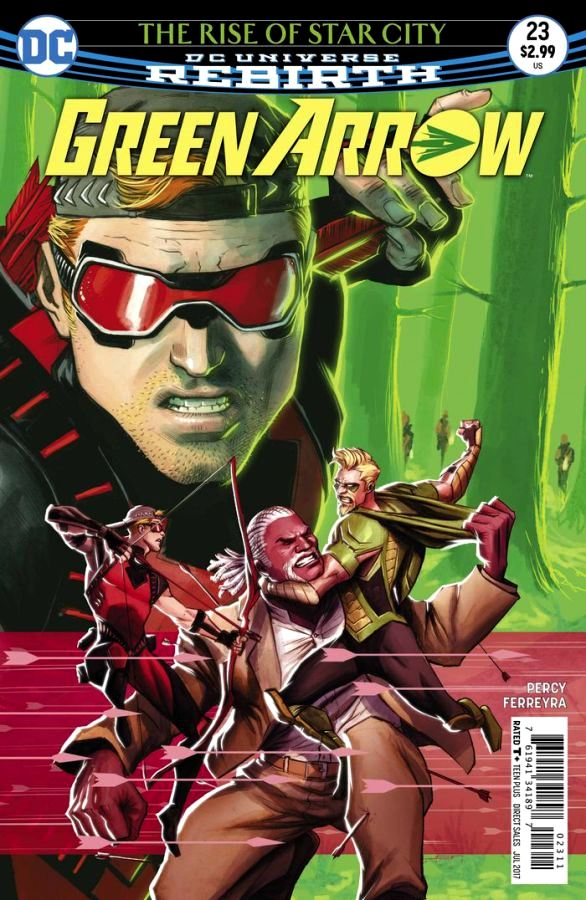 Green Arrow #23 (DC Universe Rebirth)