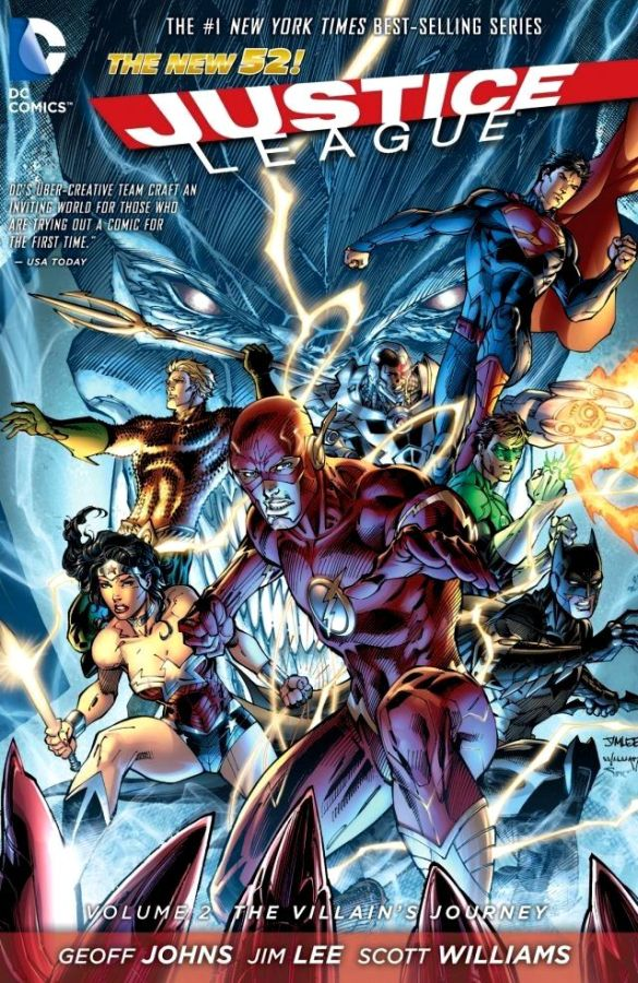 Justice League (The New 52) Volume 2: The Villain's Journey