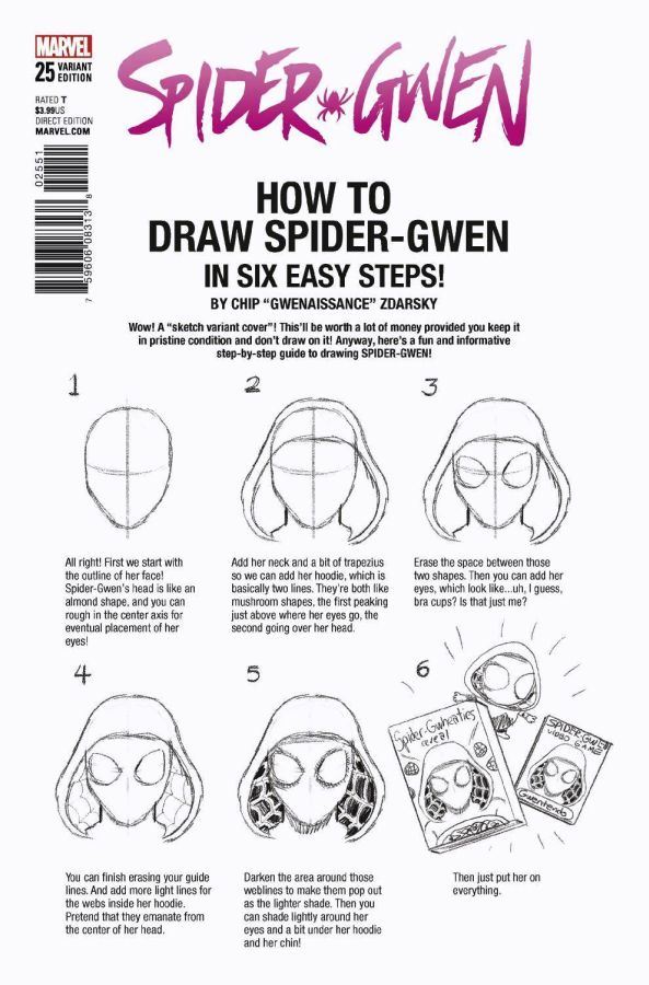 Spider-Gwen (2015b) #25 How to