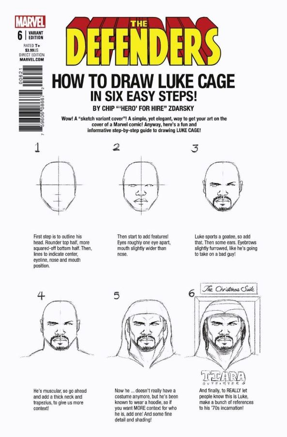 Defenders #06 How to Draw