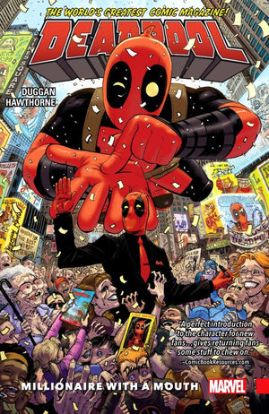 Deadpool (2015) Volume 1: Millionaire with a Mouth