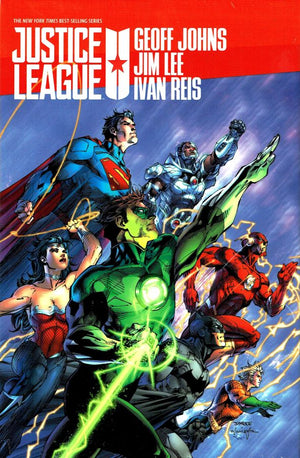 Justice League by Geoff Johns Box 1