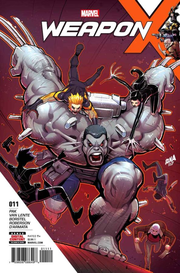 Weapon X #11