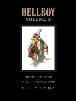 Hellboy Library Edition Volume 2: The Chained Coffin / The Right Hand of Doom HC