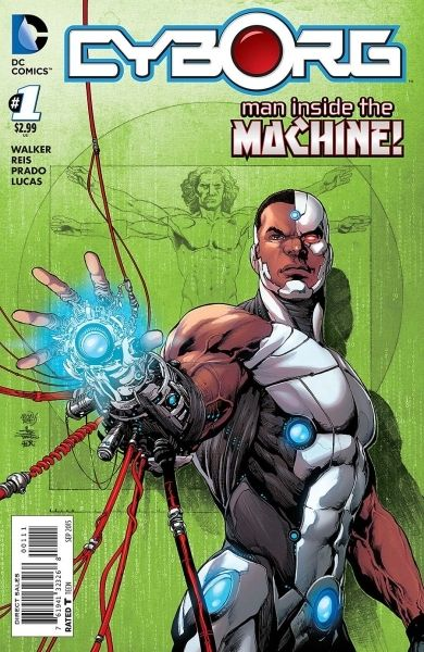 Cyborg (The New 52) #1