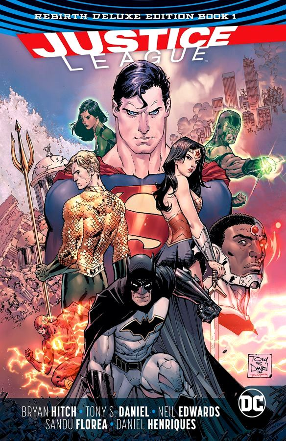 Justice League - The Rebirth Deluxe Edition Book 1 HC