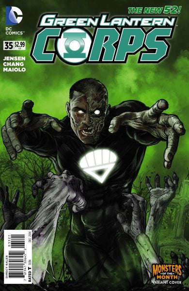 Green Lantern Corps (The New 52) #35 Monsters of the Month Variant
