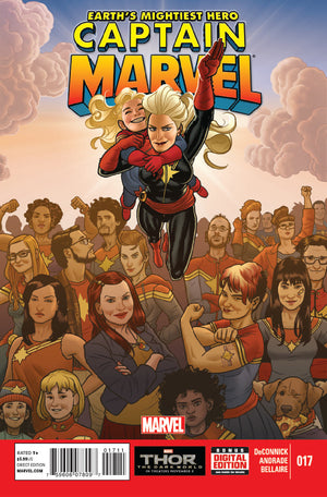 Captain Marvel (2012) #17 First Ms Marvel Appearance