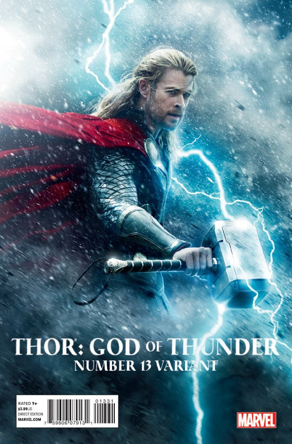 Thor: God of Thunder (2012) #13 Movie Variant