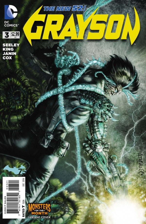 Grayson (The New 52) #03 Monsters of the Month Variant