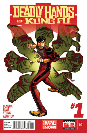 Deadly Hands of Kung Fu (2014) #1 (of 4)