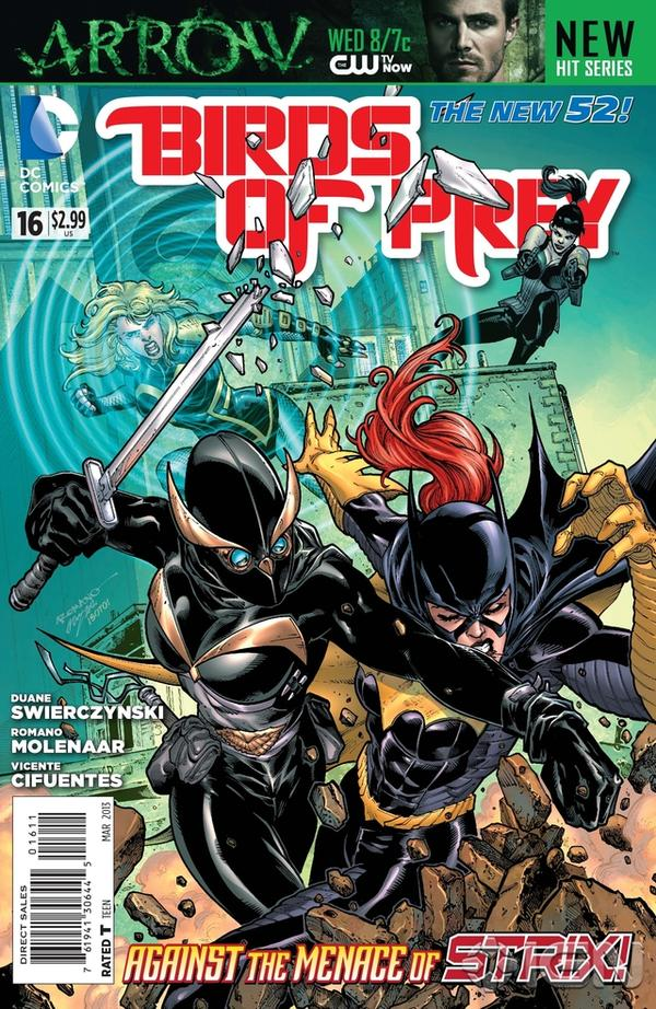 Birds of Prey (The New 52) #16