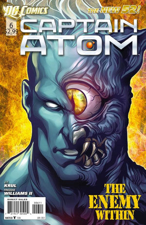 Captain Atom (The New 52) #6 Artgerm Cover