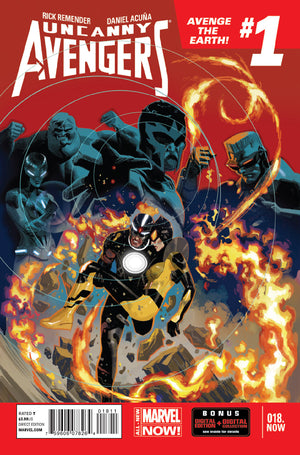Uncanny Avengers (2012) #18.Now