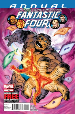 Fantastic Four (2012) Annual #33